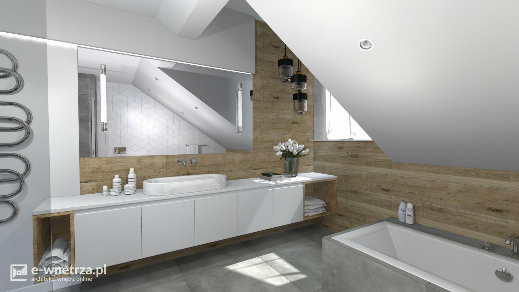 Projekt łazienki łazienka Pl Piła Projekty E Wnetrzapl