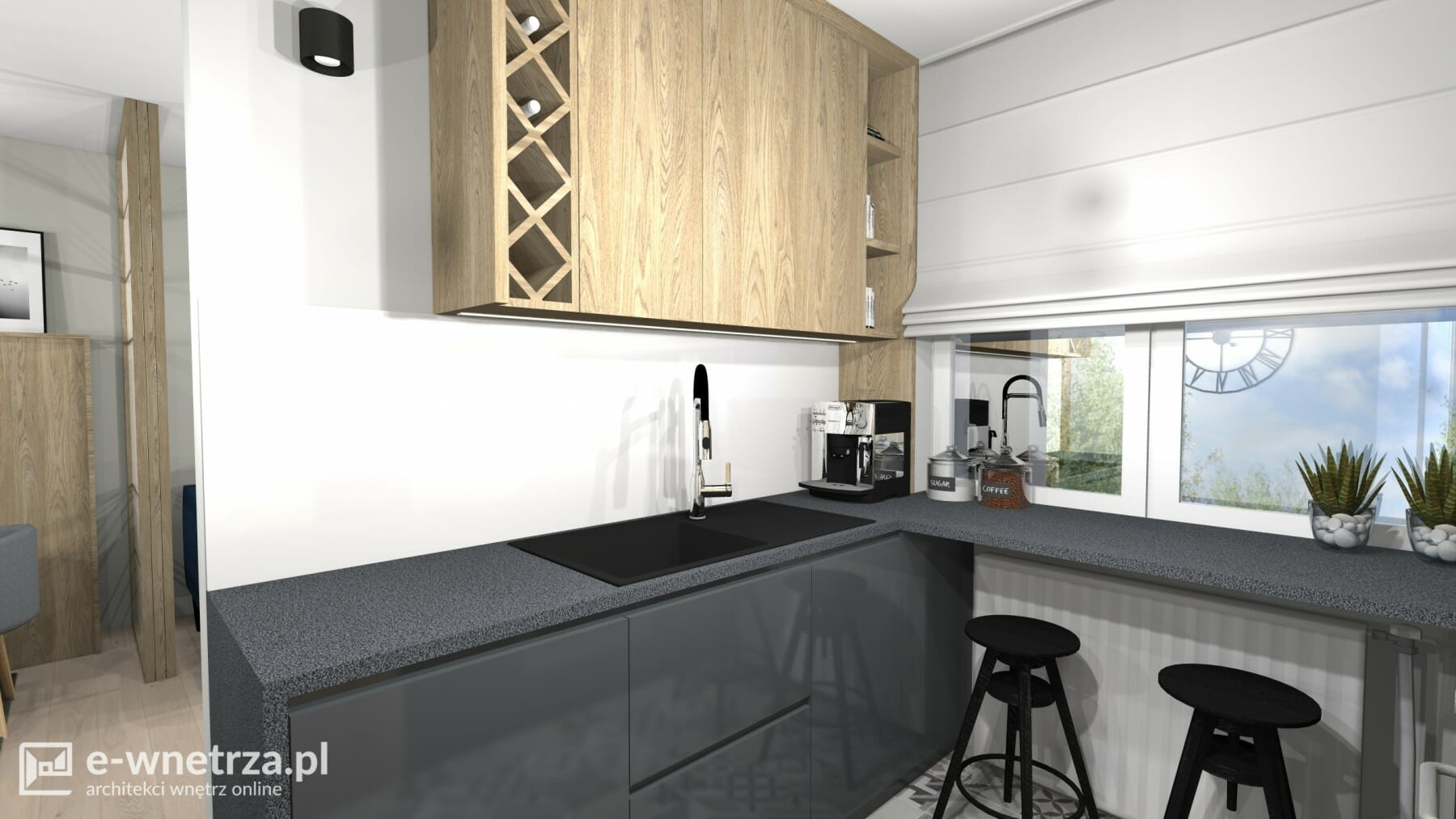 Projekt Salonu Projekt Kuchni Projekty E Wnetrzapl